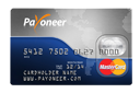 Get free Payoneer card to receive money from affilite business with $25 preloaded as gift from Payoneer company